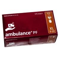 Рукавички гумові XL Ambulance