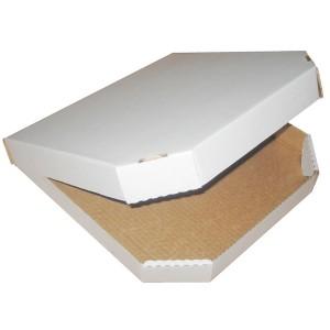 Гофропіддон білий для піцци