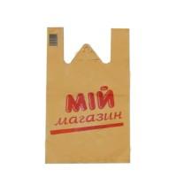 """Пакет маленький """"Мій магазин"""" (30х50 20 мкн) 100шт"""