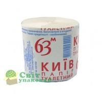 """Туалетний папір """"Київ""""  63м"""
