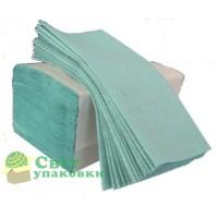 Рушник V-V зелена